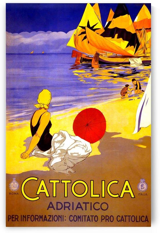 Vintage Travel - Cattolica by Culturio