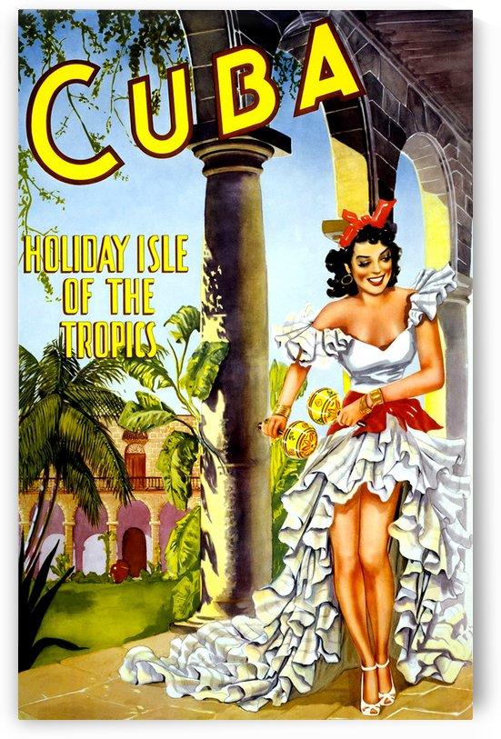 Vintage Travel - Cuba by Culturio