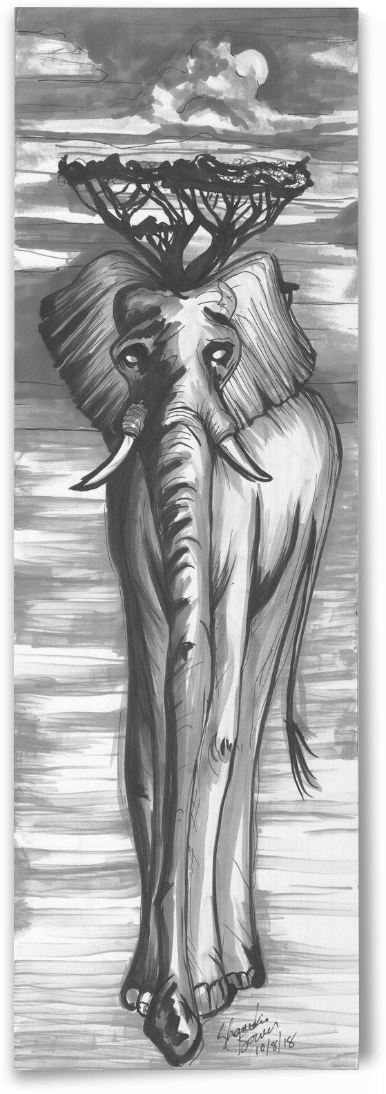 A long trunk by Shanrekia Bower