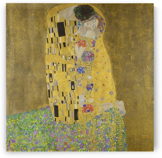 The Kiss - Gustav Klimt by LaPassion Fine Arts