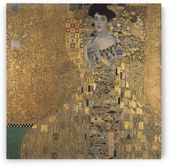 Portrait of Adele Bloch-Bauer I - Gustav Klimt by LaPassion Fine Arts