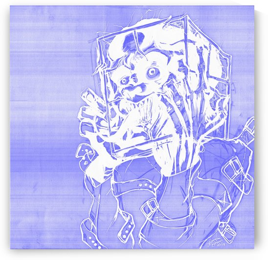 Jacle blue print by Shanrekia Bower