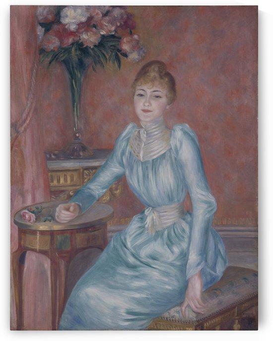 Portrait of Madame de Bonnières by Auguste Renoir