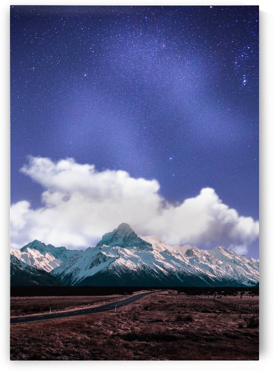 Blue Sky Over The Mountain by Okan28