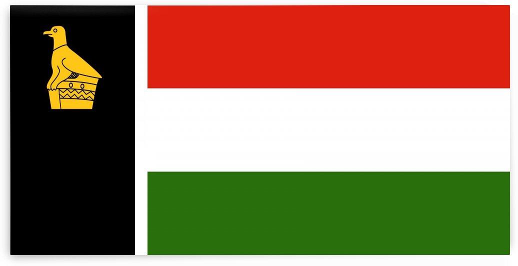 Zimbabwe Rhodesia Flag by Fun With Flags