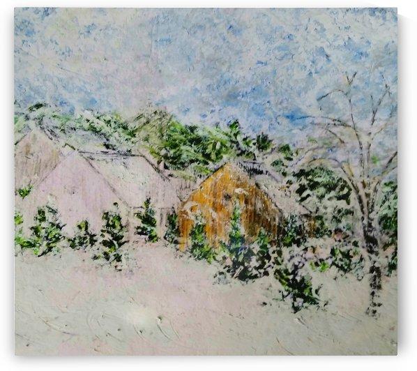 Under Deepening Snow by djjf