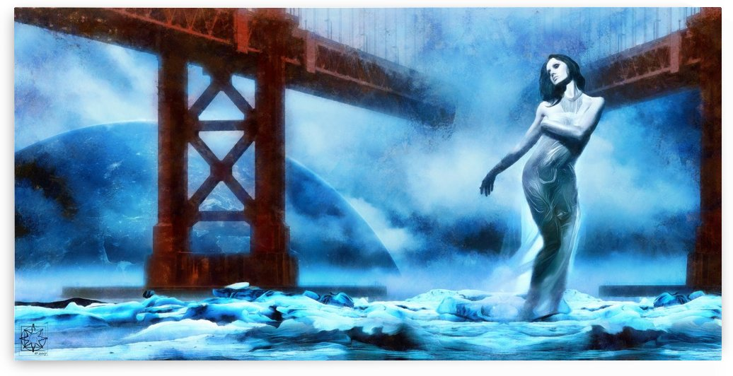 The Water Witch by ChrisHarrisArt