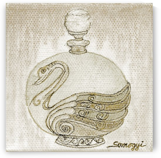 Bottled Greige Swan by Jayne Somogy