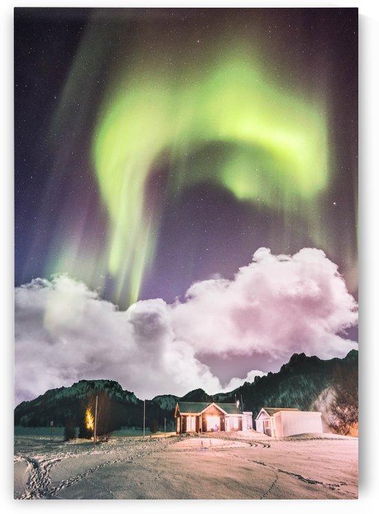 Aurora In The Winter by Okan28