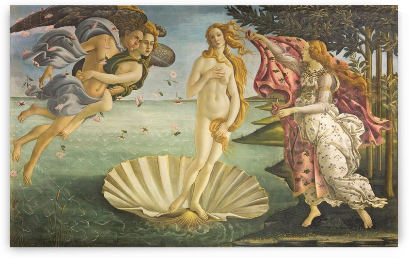 The Birth of Venus - Sandro Boticelli by LaPassion Fine Arts