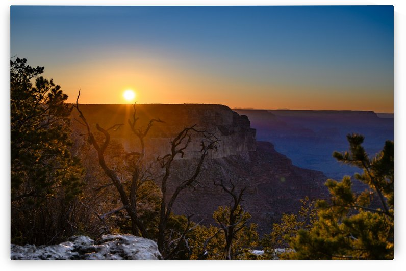 Sundown Grand Canyon  by vincenzo