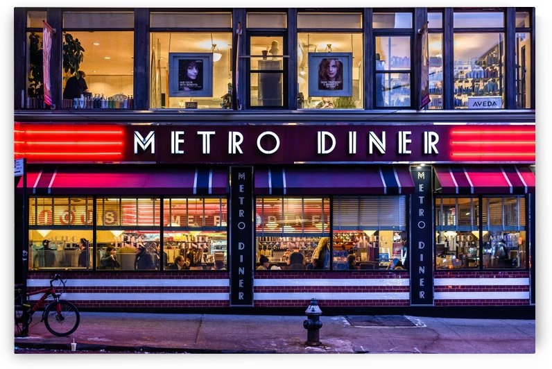 Metro Diner NYC by vincenzo