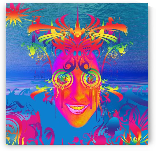 Psychedelic Fish by Matthew Lacey