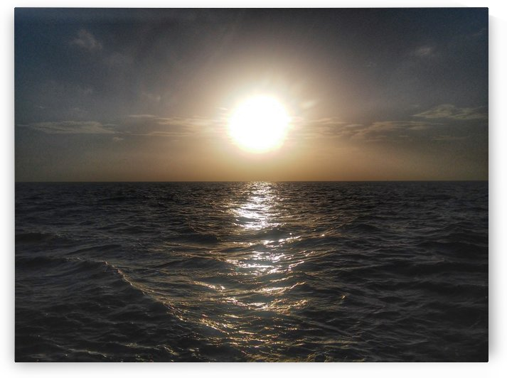 Blazing Sun over the Gulf of Mexico by Phoenix Down