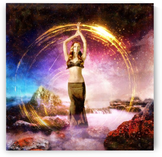 Aphrodite Rising by ChrisHarrisArt