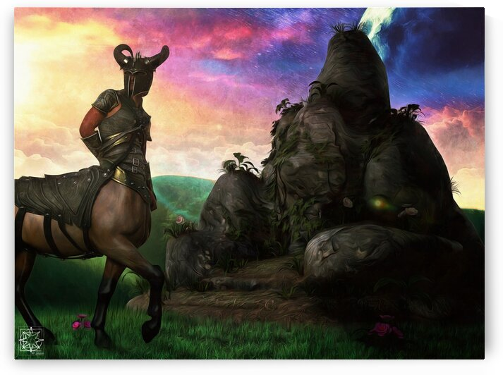 Kentauros or the Centaur by ChrisHarrisArt