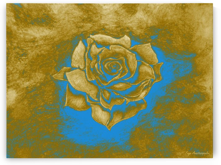 Gold Rose by Faye Anastasopoulou