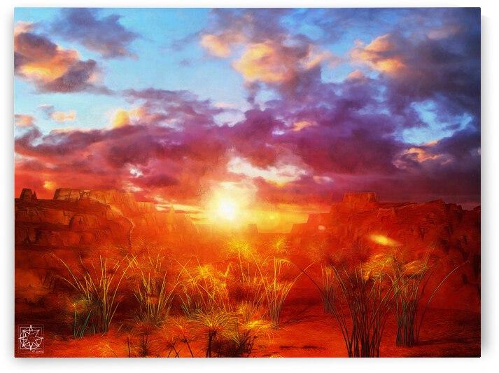 Sacred Lands by ChrisHarrisArt