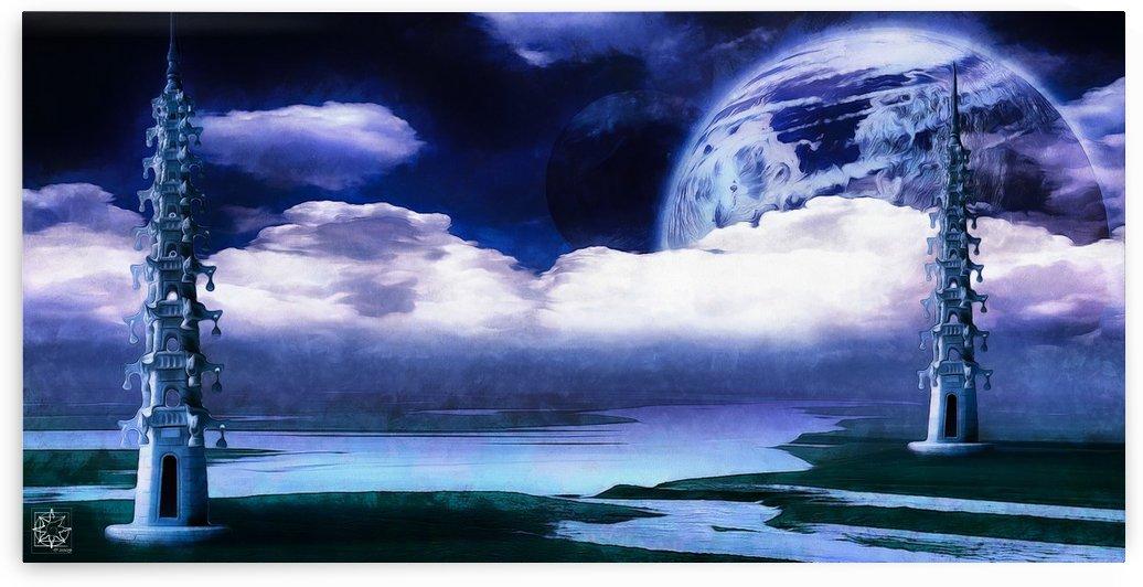 Babylonian Sky by ChrisHarrisArt