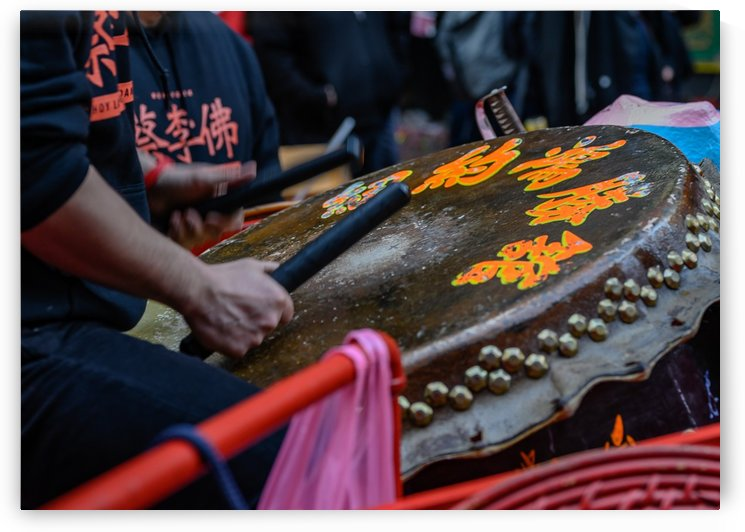 Chinese Drum by vincenzo