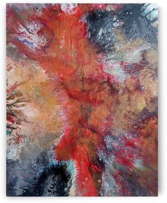 Red sensation by Vanja Zanze