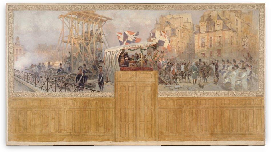Les enrolements volontaires en 1792 by Edouard Detaille