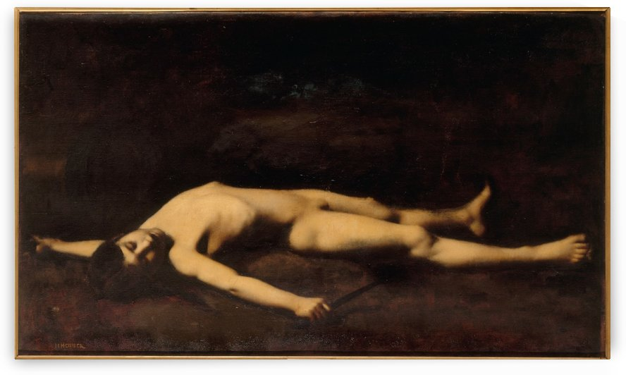 Bara by Jean-Jacques Henner