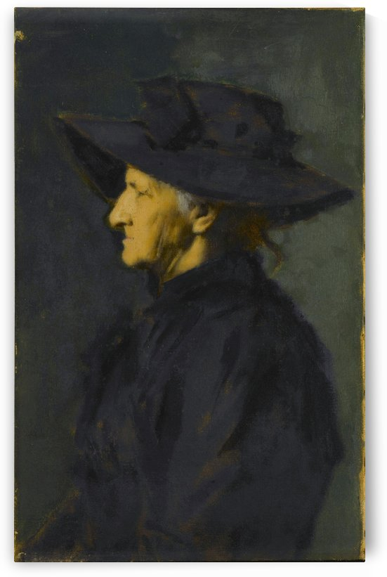 Madame Seraphin Henner by Jean-Jacques Henner