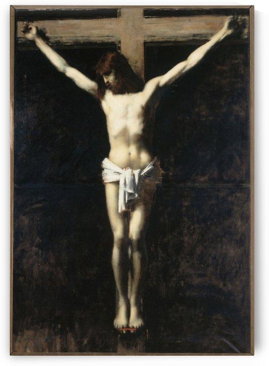 Christ en croix by Jean-Jacques Henner