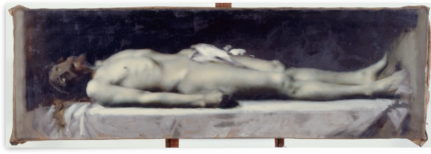 Christ au tombeau by Jean-Jacques Henner