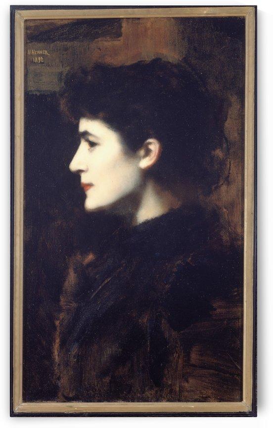 EugenieMarie GadiffetCaillard dite Germaine Dawis by Jean-Jacques Henner