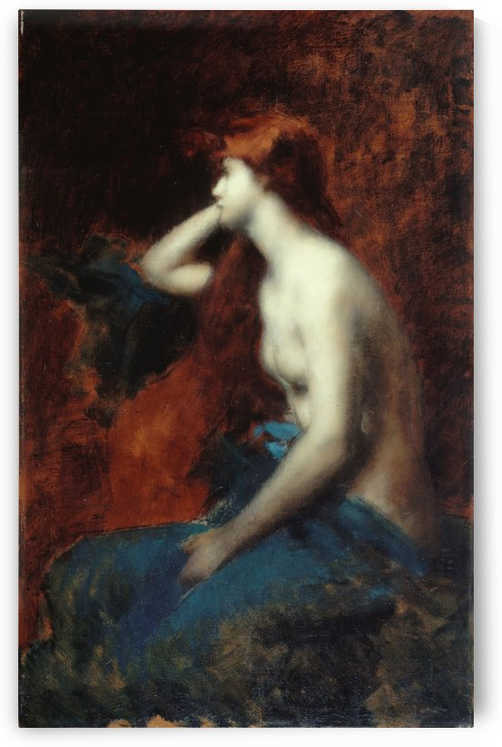 Reverie by Jean-Jacques Henner