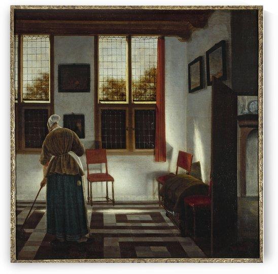 La Balayeuse by Pieter Janssens Elinga