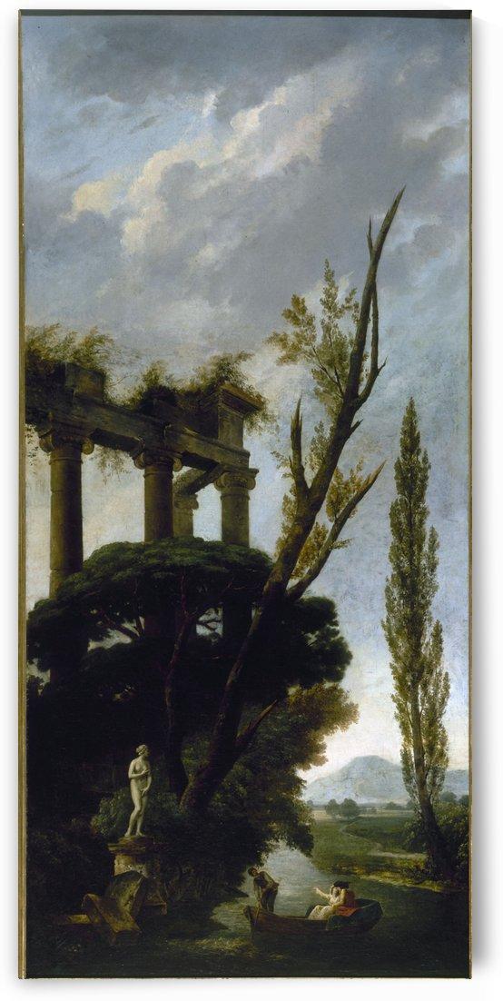 Venus Medicis by Hubert Robert