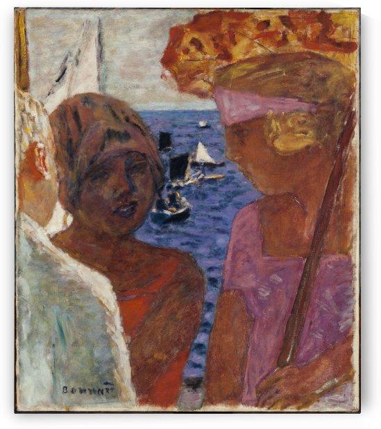 Conversation a Arcachon by Pierre Bonnard