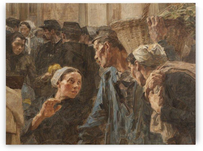 Les Halles by Leon Augustin Lhermitte