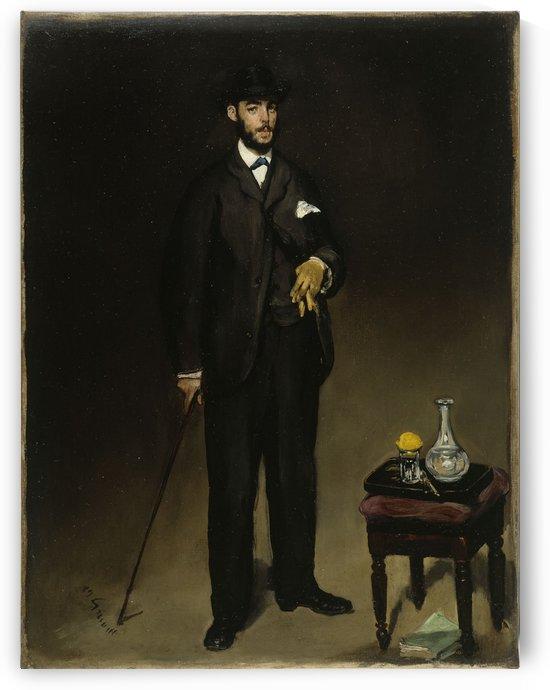Portrait de Theodore Duret by Edouard Manet