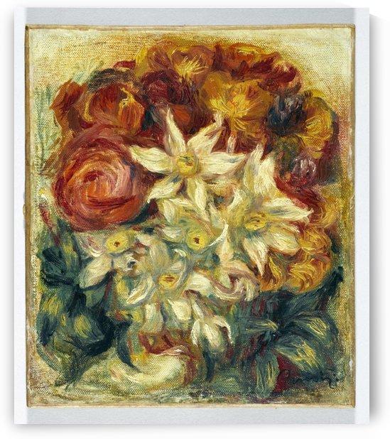 Bouquet de narcisses et de roses by Auguste Renoir