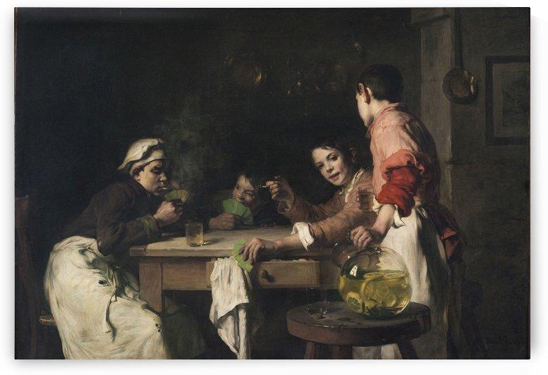 Les joueurs de cartes by Joseph Bail