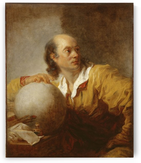 Jerome de La Lande 1732 1807 by Jean-Honore Fragonard