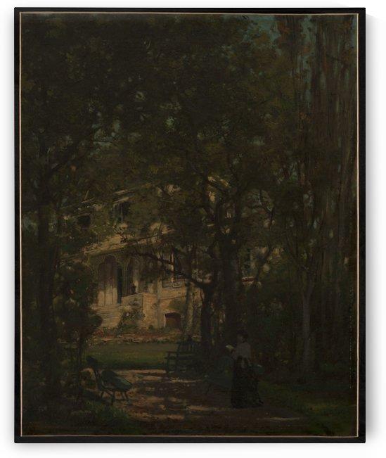 Maison de campagne de l artiste by Alexandre Jean Joseph Falguiere