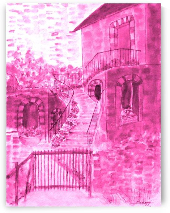 Let Them Eat Cake -- Hot Pink by Jayne Somogy