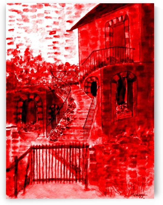 Let Them Eat Cake  -- Red by Jayne Somogy