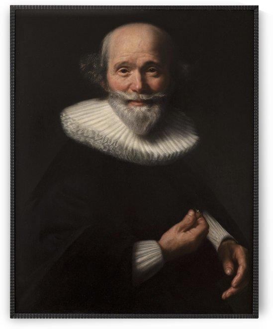 Portrait d homme by Abraham De Vries