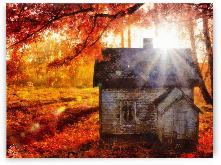 The Autumn House by ChrisHarrisArt