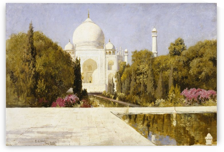 The Taj Mahal by Edwin Lord Weeks