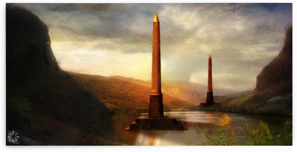 The Obelisks by ChrisHarrisArt