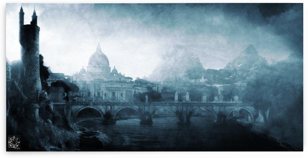 The Pale City by ChrisHarrisArt