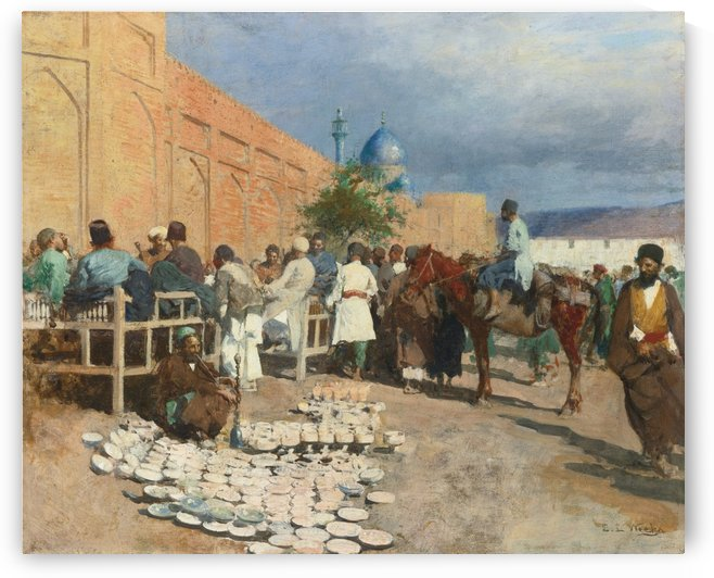 Indian Sunday by Edwin Lord Weeks