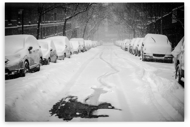 Snow Street  NYC  by vincenzo